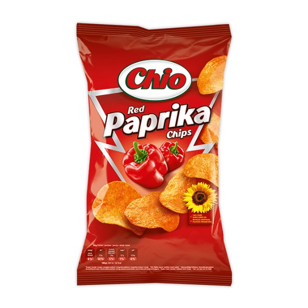 Chio Chips ketchup/red paprika 140g
